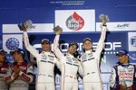 Romain Dumas, Neel Jani und Marc Lieb (Porsche)