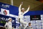 Mark Webber, Brendon Hartley und Timo Bernhard (Porsche)