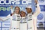 Brendon Hartley, Timo Bernhard und Mark Webber (Porsche)