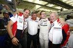Dr. Oliver Blume, Fritz Enzinger, Andreas Seidl und Dr. Wolfgang Porsche (Porsche)
