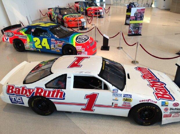 Jeff-Gordon-Sonderausstellung in der NASCAR Hall of Fame in Charlotte