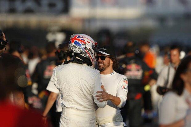 Jenson Button Fernando Alonso McLaren McLaren Honda F1 ~Jenson Button (McLaren) und Fernando Alonso (McLaren) ~