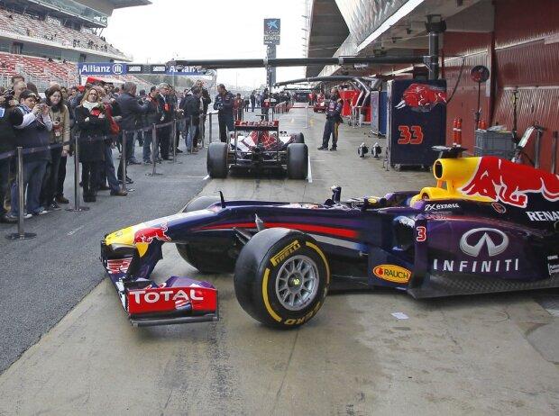 Formel-1-Testfahrten auf dem Circuit de Barcelona-Catalunya 2015