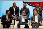 After the Lap: Gute Stimmung bei Ryan Newman, Dale Earnhardt Jun., Matt Kenseth, Martin Truex Jun., Jeff Gordon und Kevin Harvick