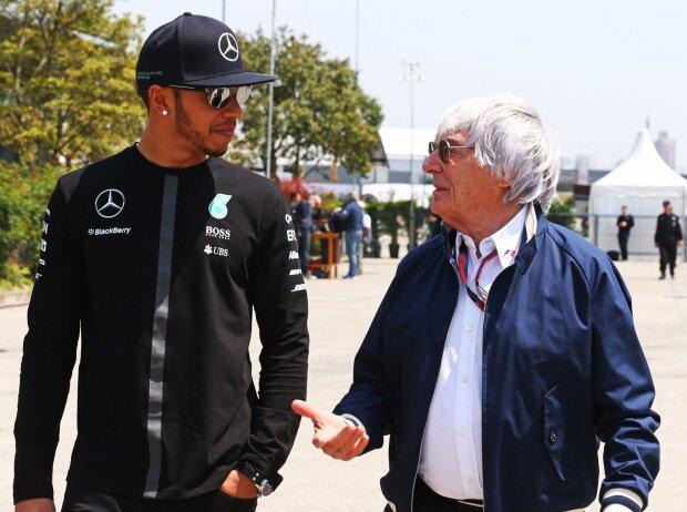Lewis Hamilton, Bernie Ecclestone