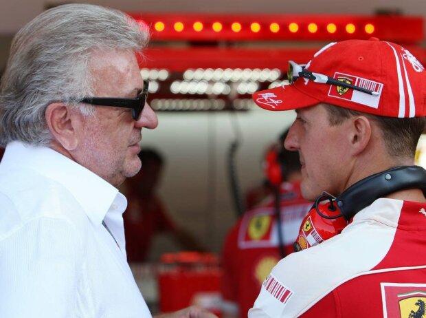 Willi Weber und Michael Schumacher
