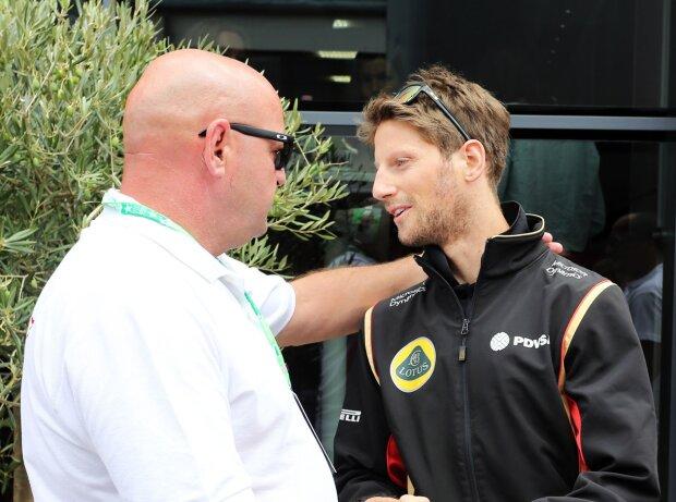 Jules Bianchi, Romain Grosjean