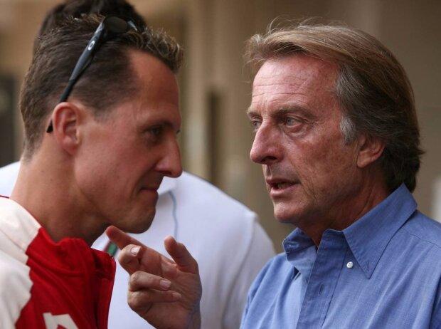 Michael Schumacher, Luca di Montezemolo