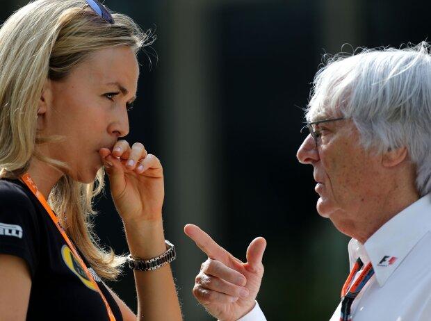 Carmen Jorda, Bernie Ecclestone