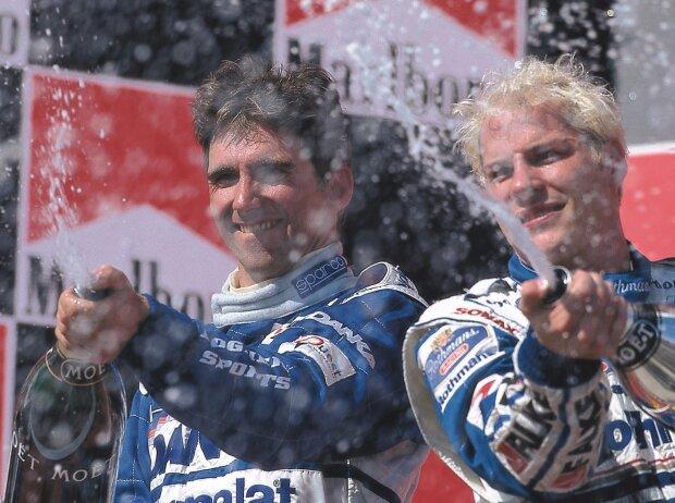 Jacques Villeneuve, Damon Hill