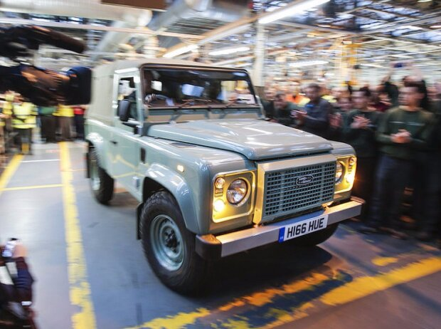 Der letzte Land Rover Defender aus Solihull