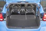 umgeklappter Kofferraum des Ford Focus RS 2016