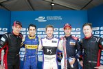 Stephane Sarrazin, Nicolas Prost, Sam Bird, Antonio Felix da Costa und Mike Conway
