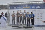 Siegerehrung der Rallye Schweden