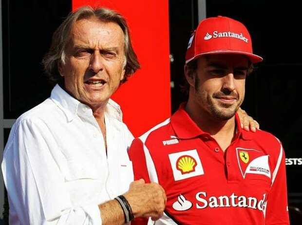Luca di Montezemolo (Ferrari-Präsident), Fernando Alonso