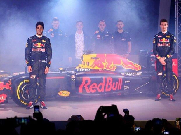 Daniel Ricciardo, Daniil Kwjat
