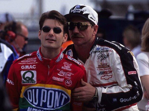 Jeff Gordon, Dale Earnhardt Sr.