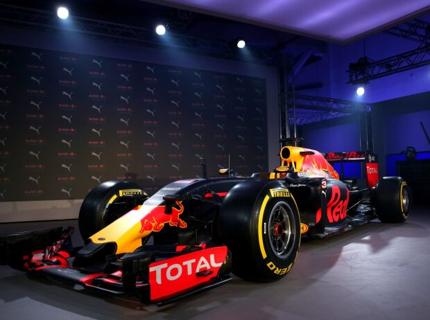 Red Bull in neuer Lackierung