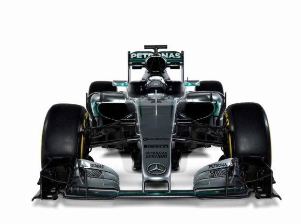 Präsentation des Mercedes F1 W07 Hybrid