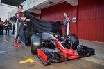 Esteban Gutierrez (Haas) und Romain Grosjean (Haas)