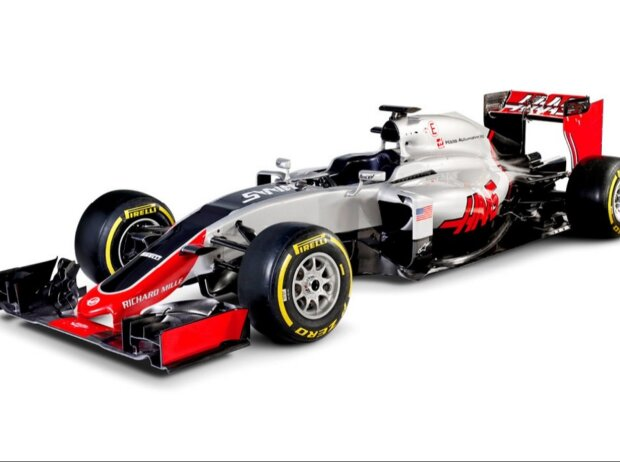 Präsentation/Launch des Haas-Ferrari VF-16