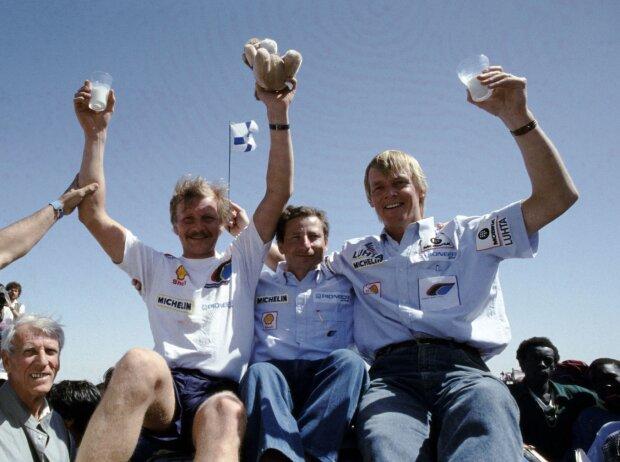 Juha Kankkunen, Jean Todt, Ari Vatanen