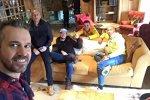 Tiago Monteiro, Gabriele Tarquini, Robert Huff, Hugo Valente und Tom Coronel