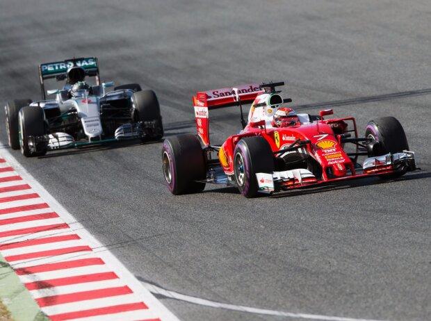 Nico Rosberg, Kimi Räikkönen