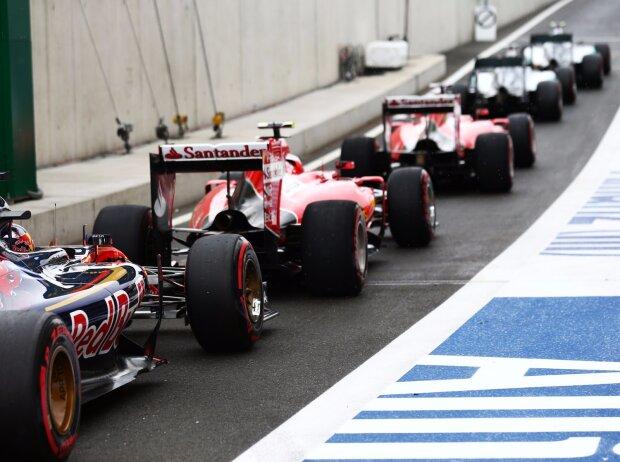Nico Rosberg, Lewis Hamilton, Sebastian Vettel, Max Verstappen, Kimi Räikkönen