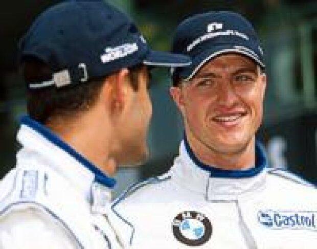 Ralf Schumacher und Juan-Pablo Montoya