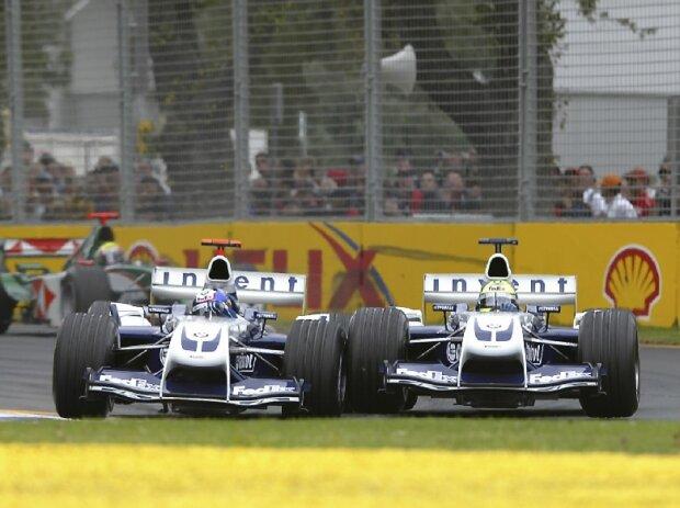 Juan Pablo Montoya, Ralf Schumacher