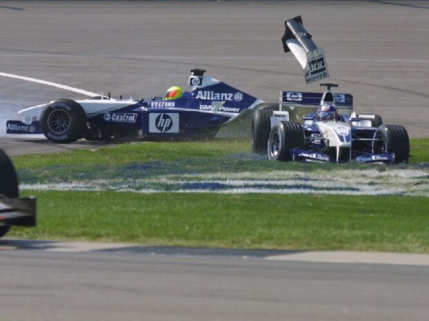 Ralf Schumacher, Juan Pablo Montoya