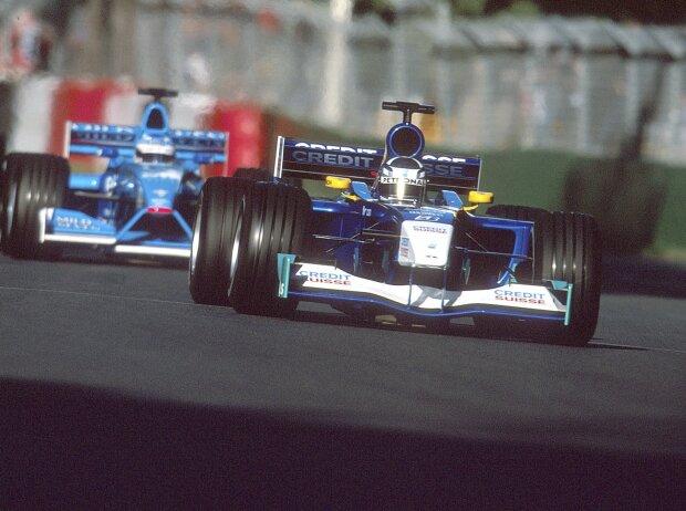 Kimi Räikkönen, Giancarlo Fisichella