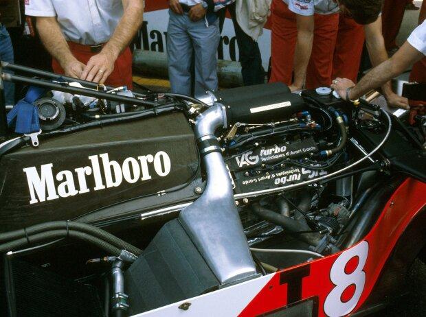TAG-Motor bei McLaren
