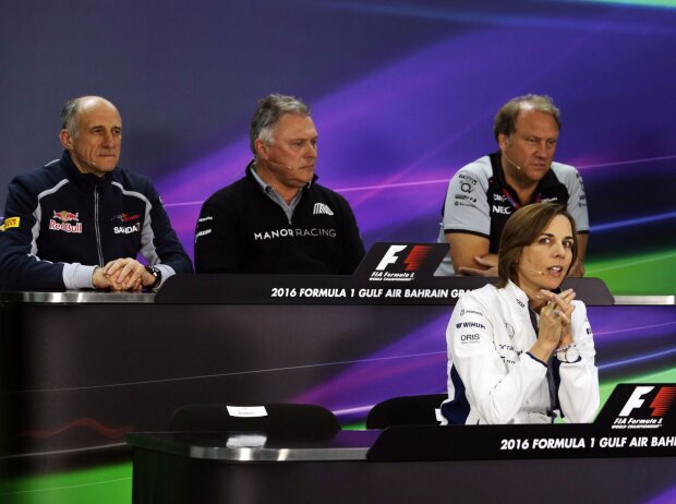 Franz Tost, Claire Williams