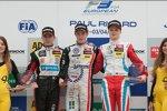 Anthoine Hubert, Joel Eriksson und Ralf Aron