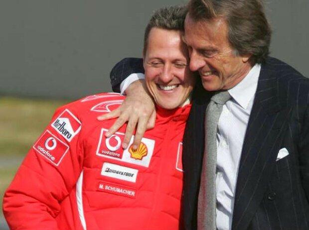 Michael Schumacher und Luca di Montezemolo