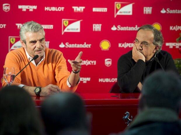 Maurizio Arrivabene und Sergio Marchionne