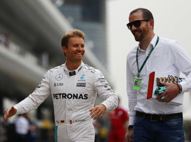 Nico Rosberg und Georg Nolte