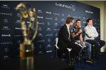 Lewis Hamilton und Toto Wolff