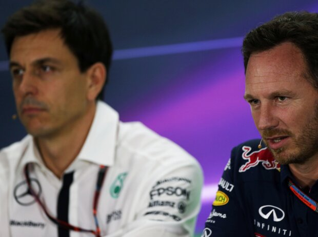 Christian Horner, Toto Wolff