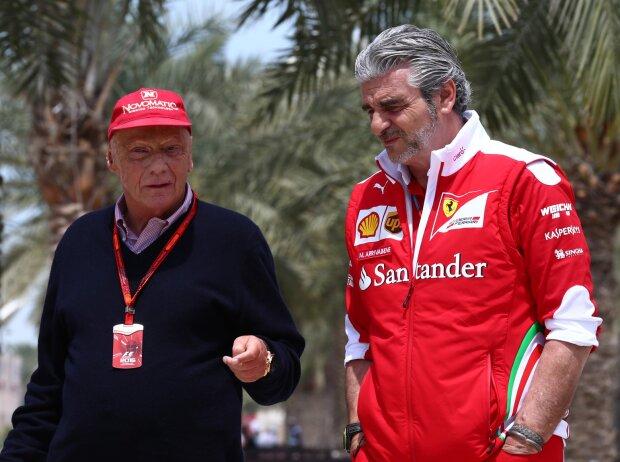 Niki Lauda, Maurizio Arrivabene