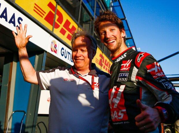 Romain Grosjean, Gene Haas