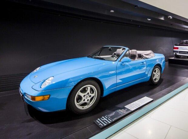 Das Ende der Transaxle-Ära markiert der Porsche 968.