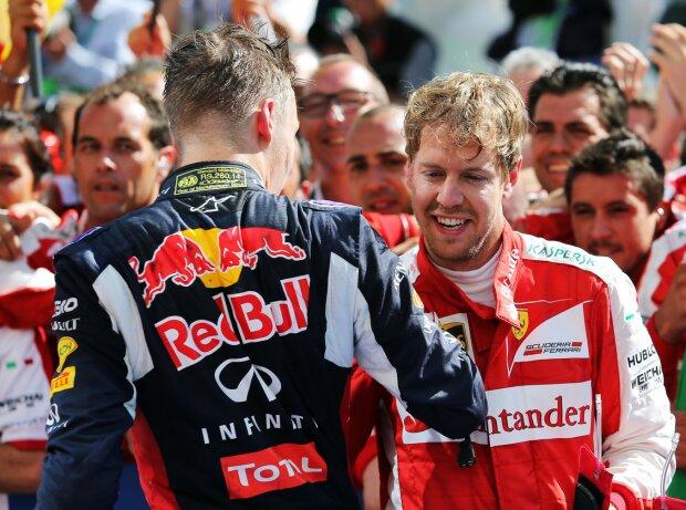 Daniil Kwjat, Sebastian Vettel