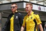 Kevin Magnussen und Sergei Sirotkin (Renault)