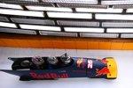 Red Bull im Eiskanal