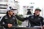 Sergio Perez (Force India) und Nico Hülkenberg (Force India)