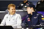 Nico Rosberg (Mercedes) und Daniil Kwjat (Red Bull)