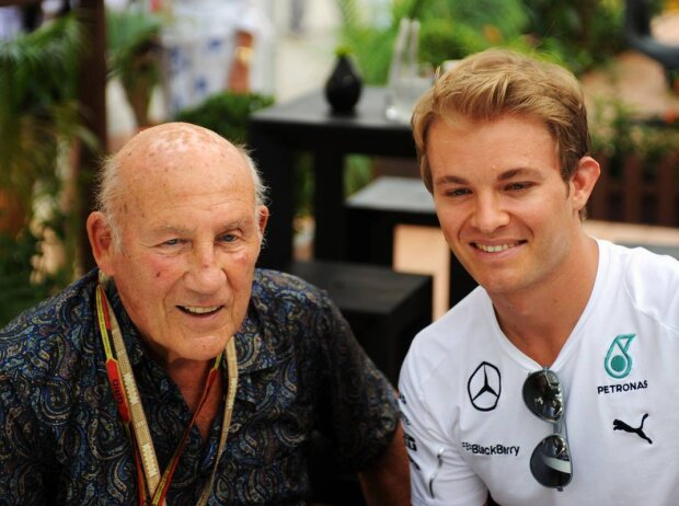 Stirling Moss und Nico Rosberg